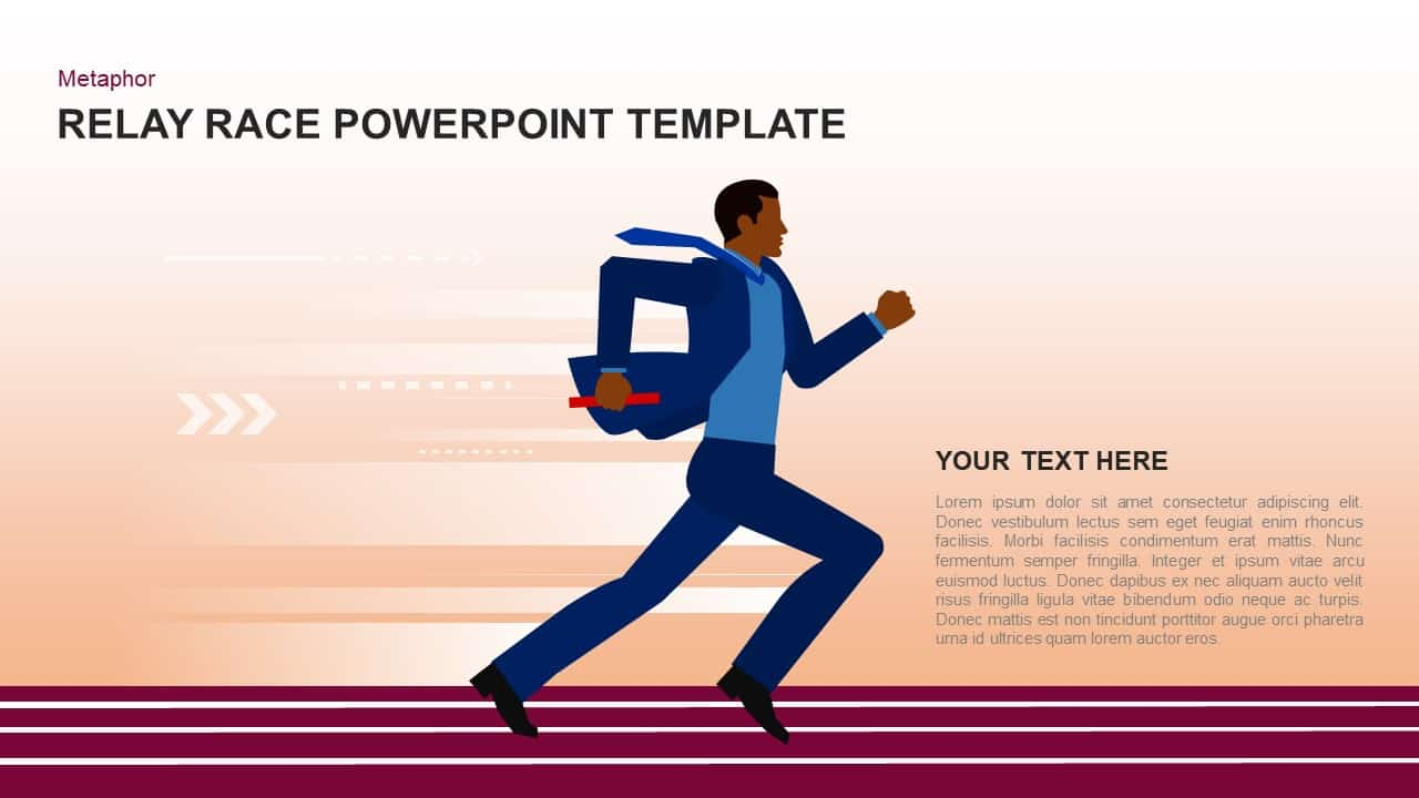 Relay Race Keynote Template