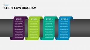 Step Flow Diagram Template for PowerPoint and Keynote