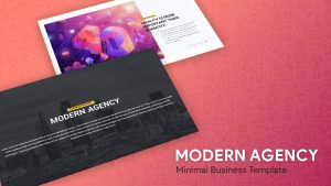 Modern Business Minimal PowerPoint Templates and Keynote