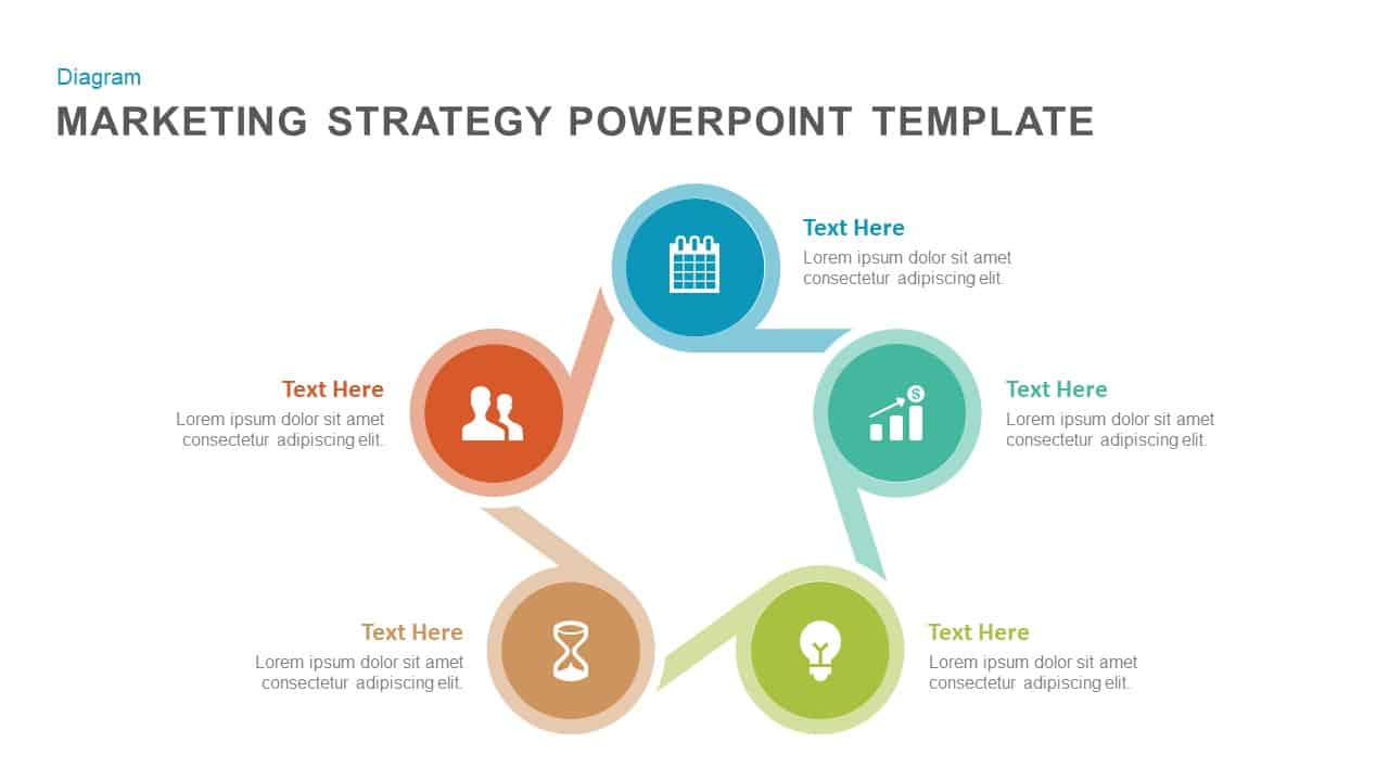 Marketing Strategy Powerpoint Template And Keynote Slidebazaar