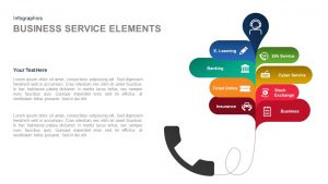 Business Service Elements PowerPoint Template and Keynote