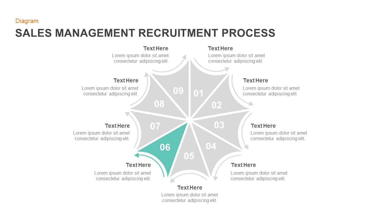 sales management recruitment powerpoint and keynote slides