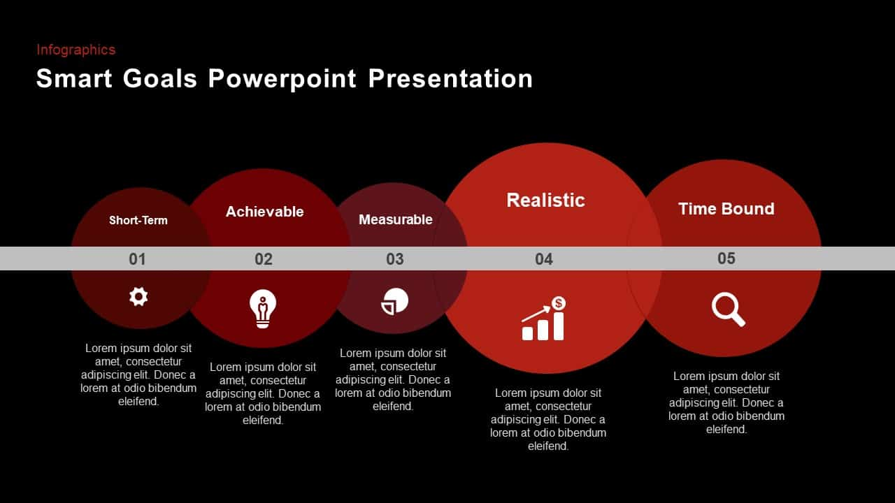 smart goals powerpoint template and keynote