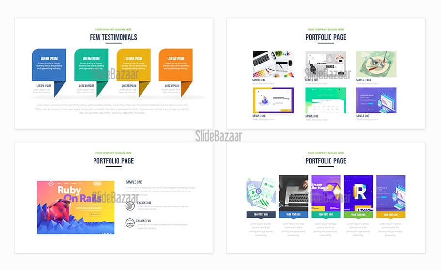 Free Pitch Deck PowerPoint Template for Modern Presentation