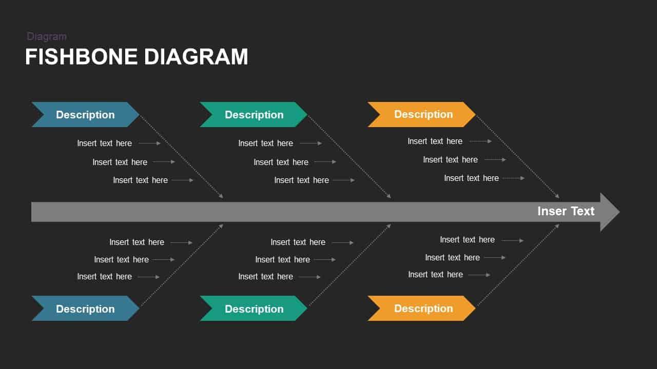 Free Fishbone Diagram Powerpoint Template Slidebazaar