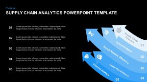 Supply Chain Analytics PowerPoint Template and Keynote Slide