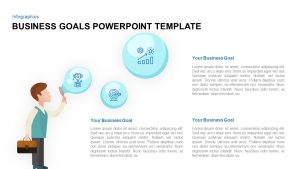 Business Goals PowerPoint Template and Keynote Slide