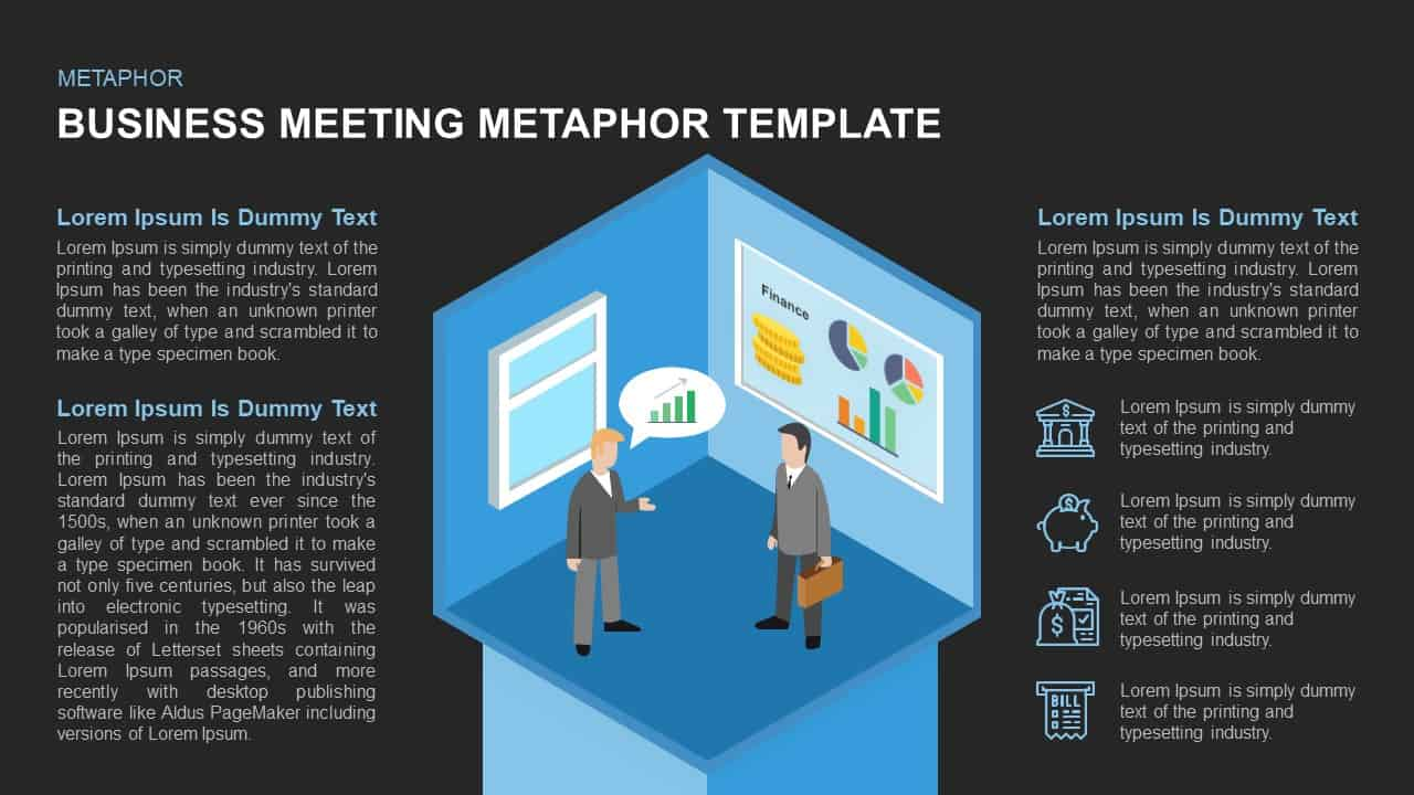 Business meeting template for PowerPoint and Keynote