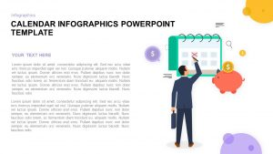 Infographic PowerPoint Calendar Template and Keynote Slide