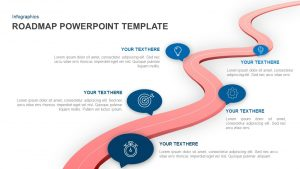 Roadmap PowerPoint Template and Keynote Slide