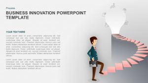 Business Innovation PowerPoint Template for Presentation