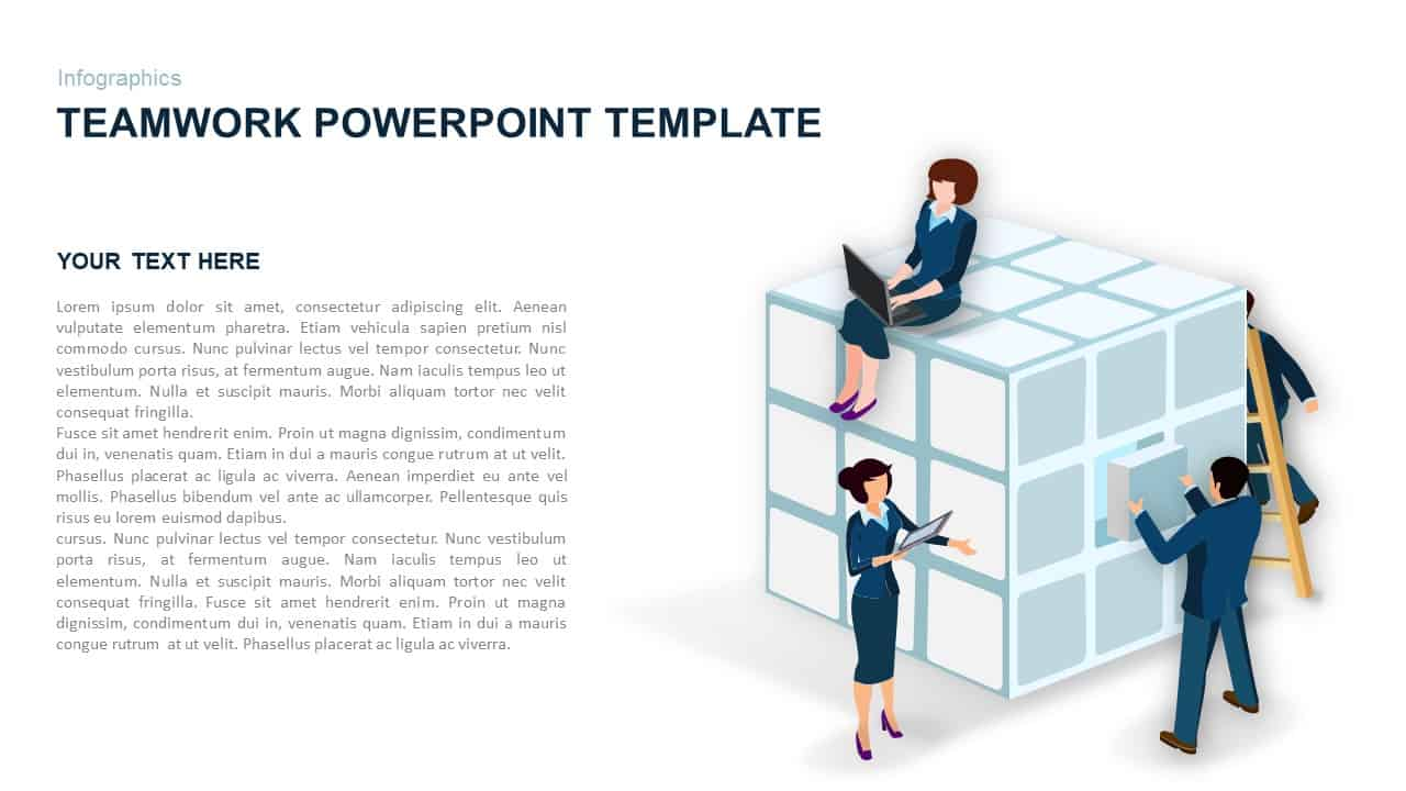 teamwork powerpoint template and keynote