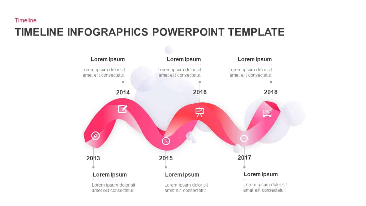 6 Stages Timeline PowerPoint Template and Keynote