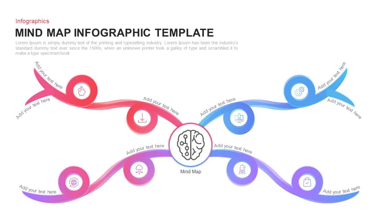 Mind Map Template for PowerPoint and Keynote Presentation