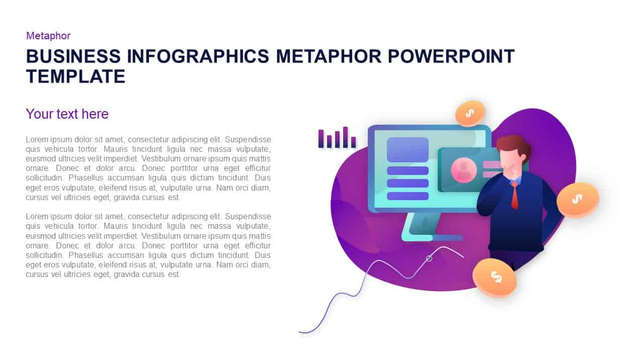 business PowerPoint template and Keynote