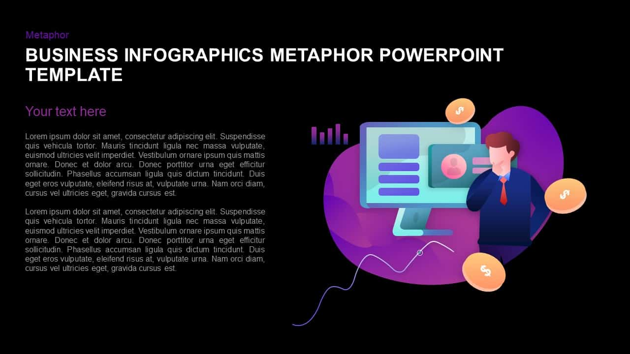 Business template for PowerPoint and Keynote