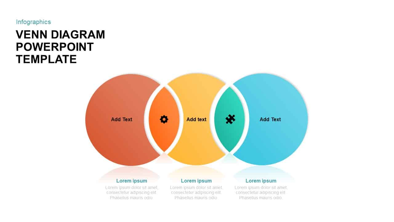 3 circle venn diagram powerpoint template