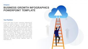 Business Growth Infographics Template for PowerPoint and Keynote