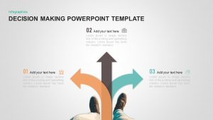 Decision Making PowerPoint Template & Keynote Diagram