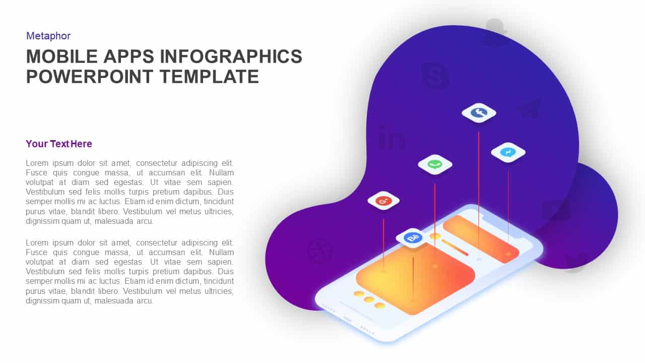 Mobile Application PowerPoint Presentation Template