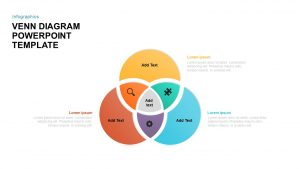 Venn Diagram PowerPoint Template and Keynote Slide