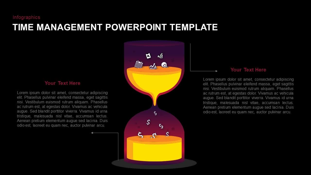 Time management template for PowerPoint