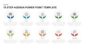 10 Step Agenda Template for PowerPoint and Keynote
