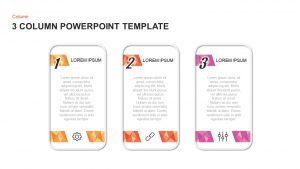 3 & 4 Column PowerPoint Templates and Keynote Diagrams