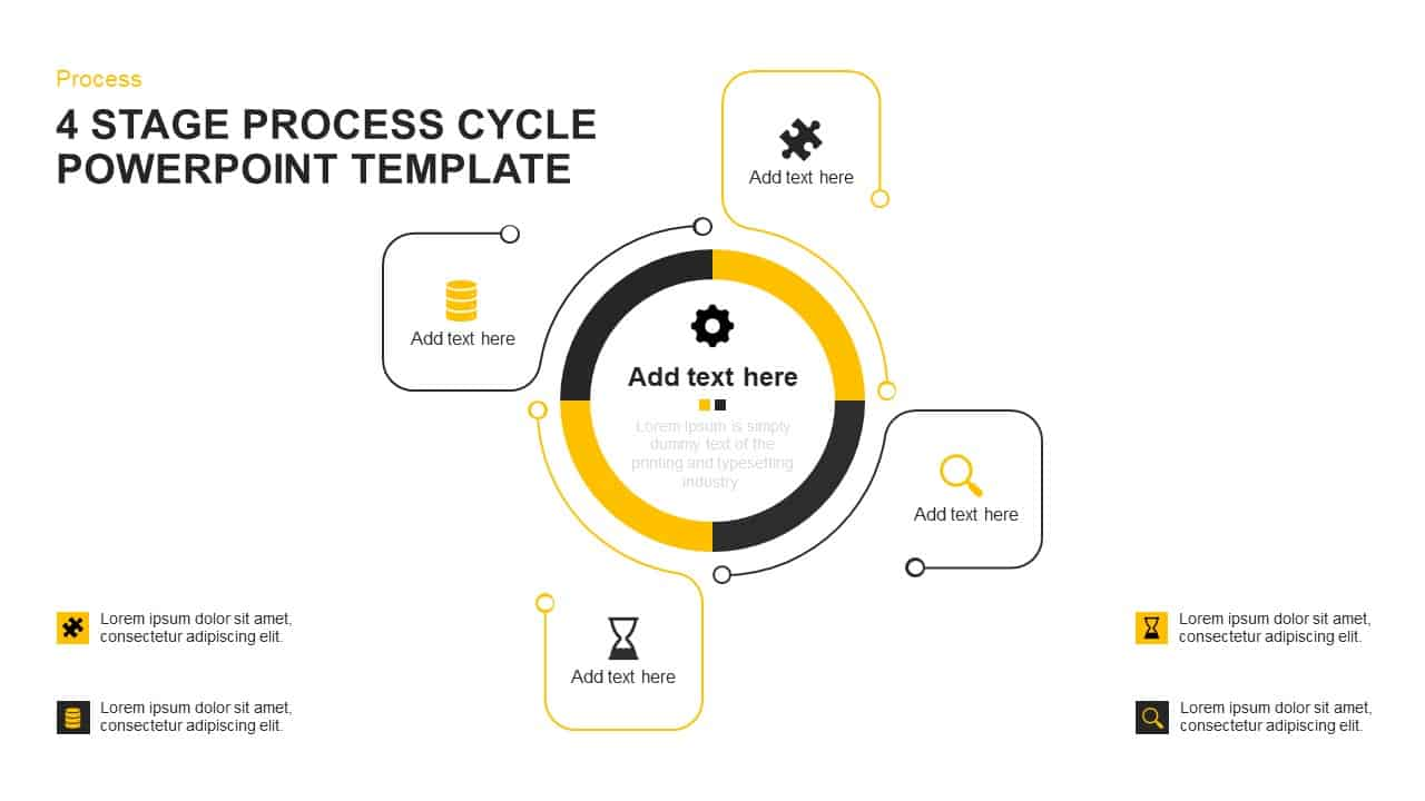 Process Cycle PowerPoint Template