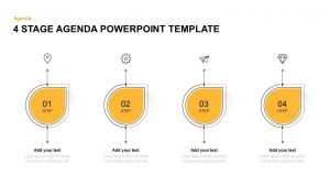 4, 5, 6 Stages Agenda PowerPoint Templates & Keynotes