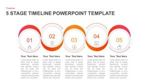 5 Stages Timeline PowerPoint Template & Keynote Diagram