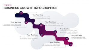 Business Growth Infographic Template for PowerPoint & Keynote