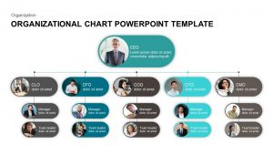 Organizational Chart PowerPoint Template & Keynote Diagram