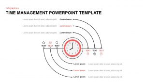 Time Management PowerPoint Template & Keynote Diagram