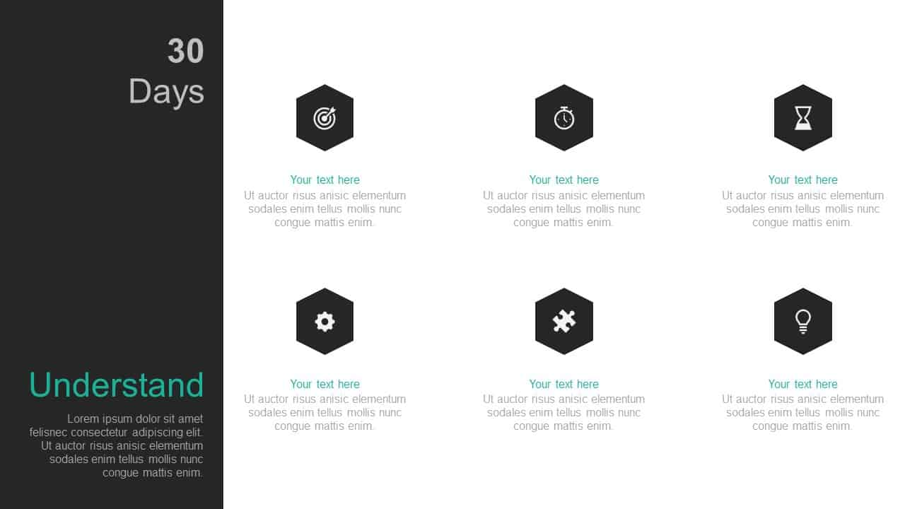 30 Day Business Plan PowerPoint Template