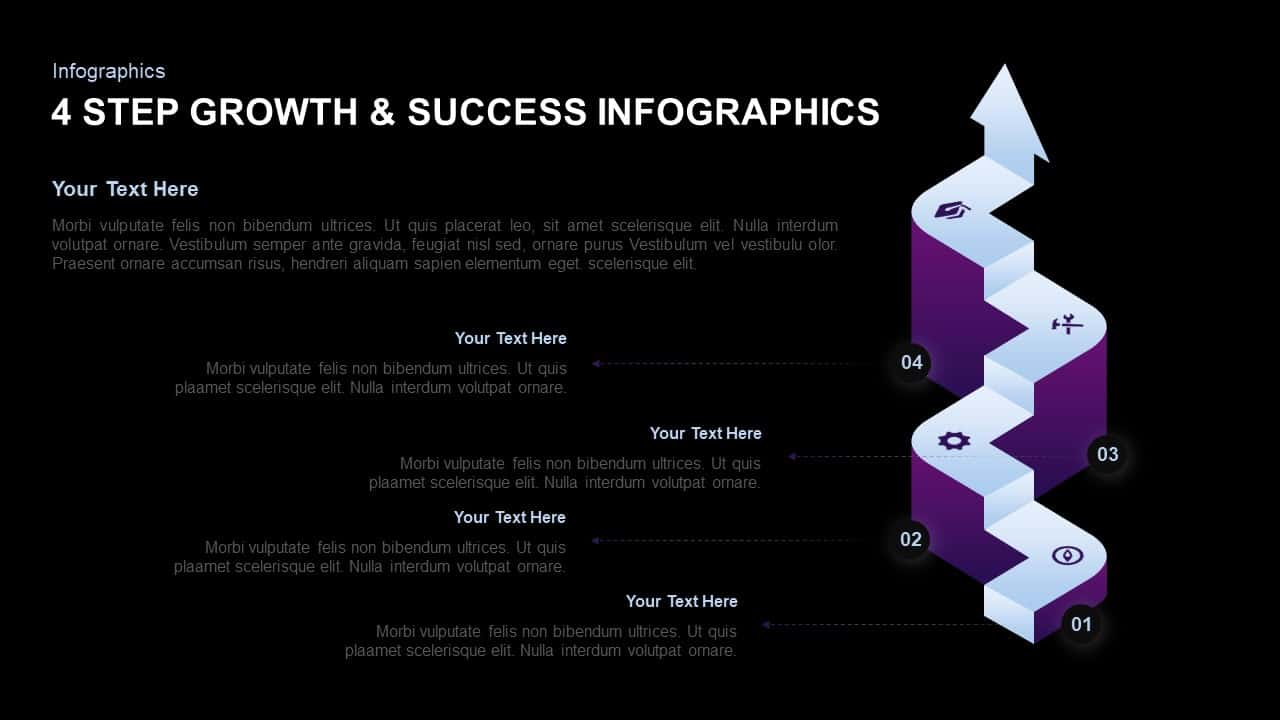 Growth and Success PowerPoint Template