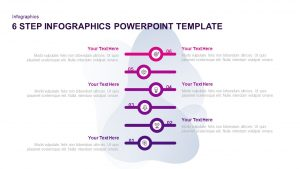 6 Step Infographic Template for PowerPoint & Keynote