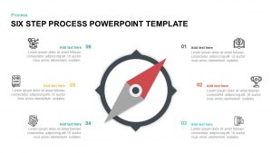 6 Step Process PowerPoint Template & Keynote Diagram
