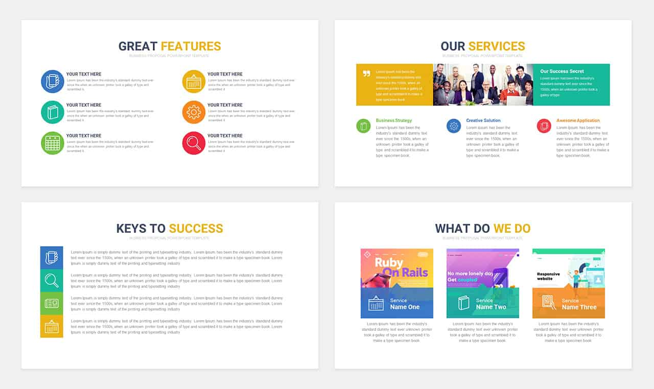Free Business Proposal Templates for PowerPoint & Keynote