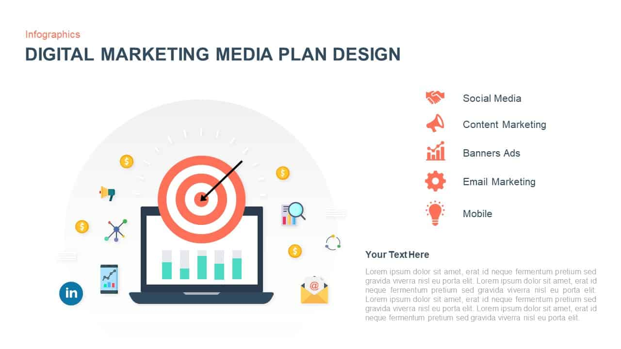 Digital Marketing Media Plan Template for PowerPoint