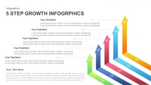 5 Step Growth Infographic Templates for PowerPoint Presentation