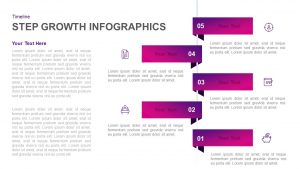 5 Step Infographic Growth Template for PowerPoint & Keynote