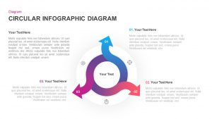 Infographic Circular Diagram for PowerPoint & Keynote
