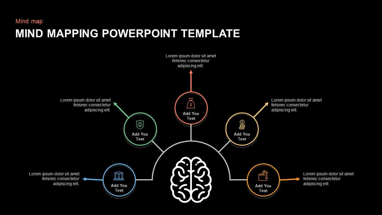 Mind Mapping Template for PowerPoint