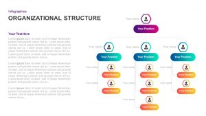 Organizational Structure Template for PowerPoint & Keynote