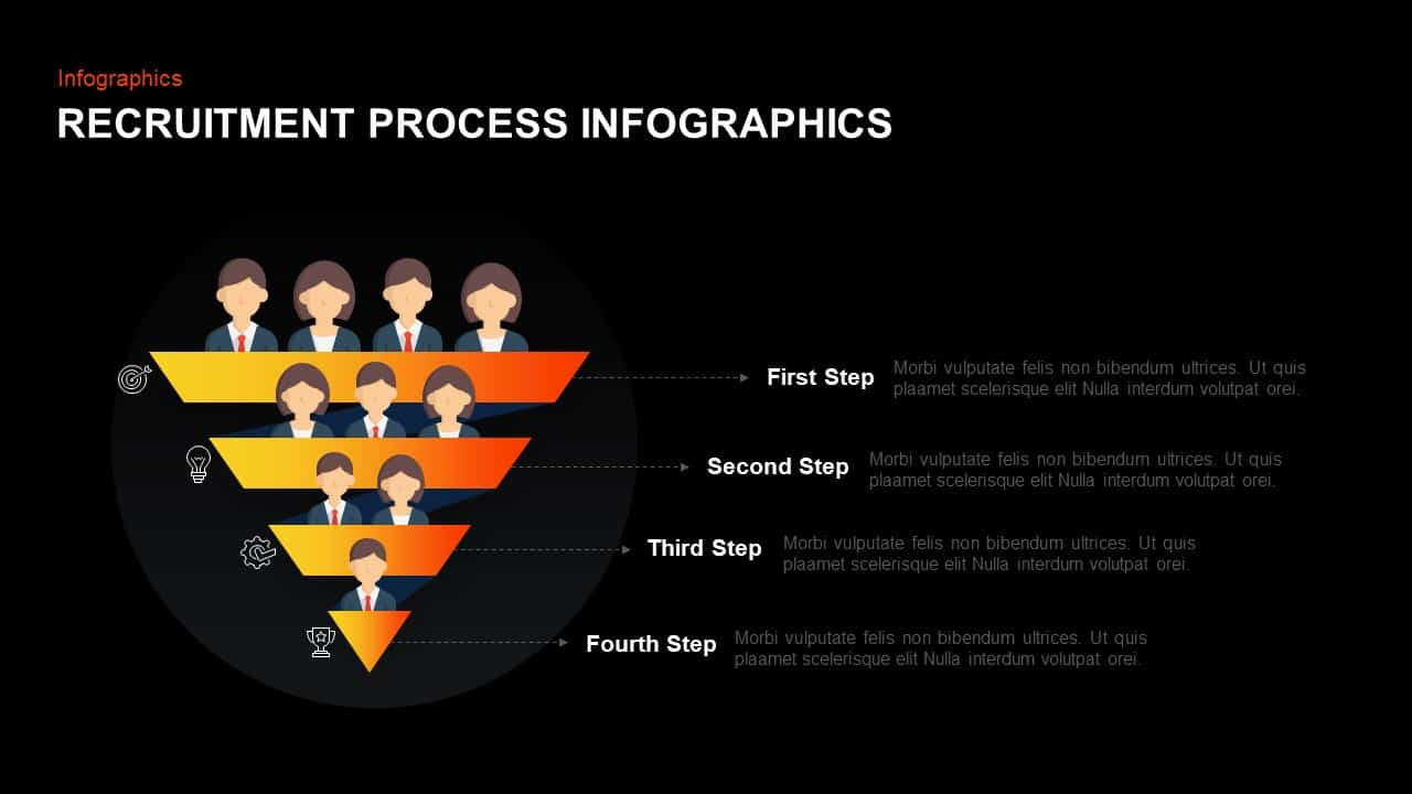 Recruitment Process Template for PowerPoint