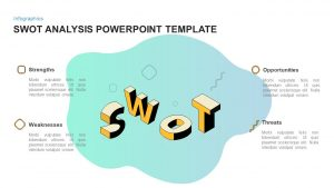 Simple SWOT Analysis PowerPoint Template & Keynote