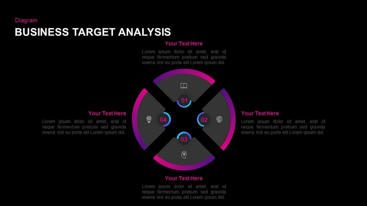 Target Business Analysis PowerPoint Template