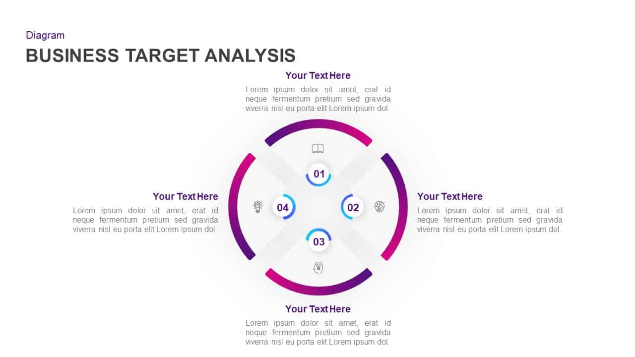 Target Business Analysis Template for PowerPoint