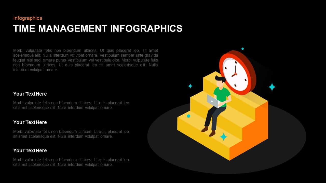 Time Management Infographic Template